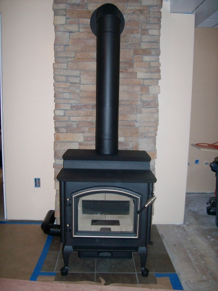 Small wood stove used for sale