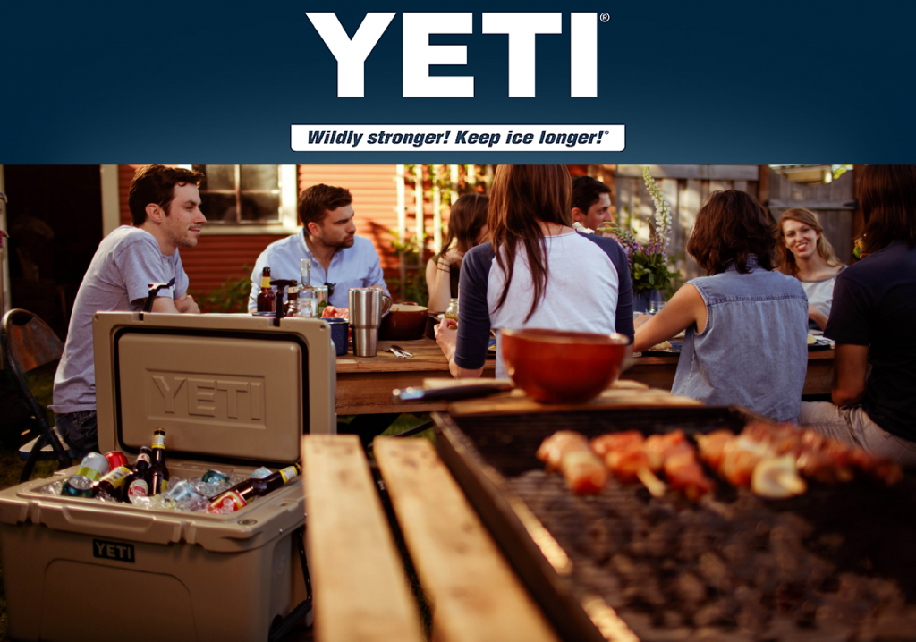 YETI Coolers. Wildly Stronger! Keep Ice Longer!